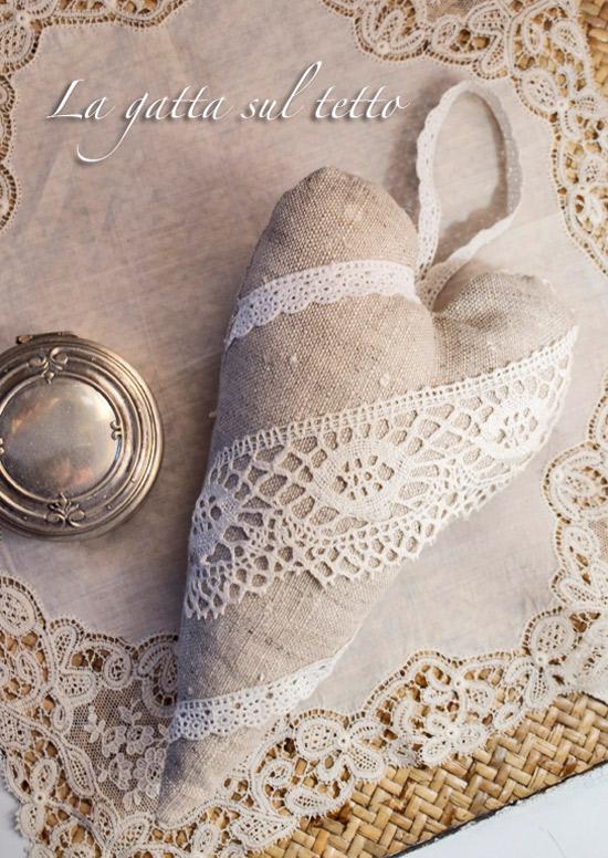 Favorito ♥Cuori di stoffa imbottiti per San Valentino: idee e tutorial  LC31