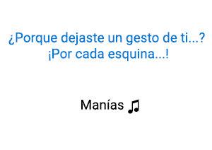 Thalía Manías significado de la canción.