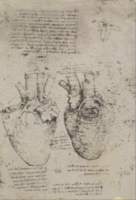 The Heart, facsimile of the Windsor book - Léonard de Vinci