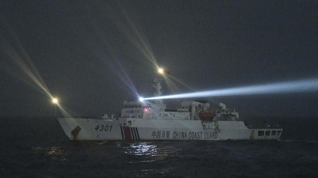 Sebulan Lebih Kapal Riset China Beroperasi di Laut Natuna, Kemenlu: Mereka Tidak Melanggar, Kami Cuma Mengawasi Saja