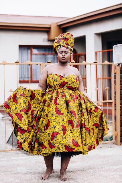 mobu by melo, kgomotso neto photography,plus size ankara dresses
