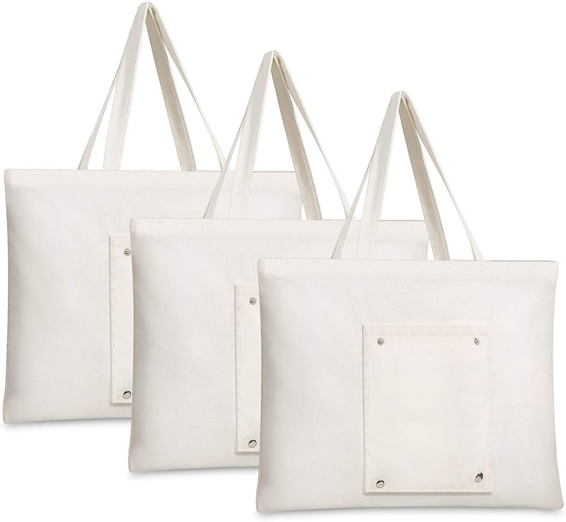 50% OFF  cotton canvas tote bag