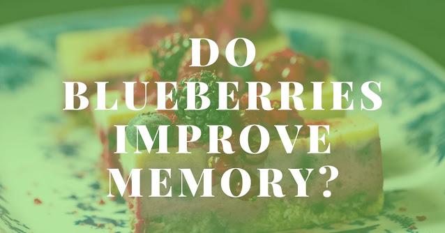Do blueberries improve memory