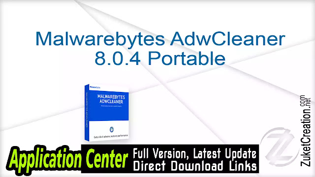 Malwarebytes AdwCleaner 8.0.4 Portable