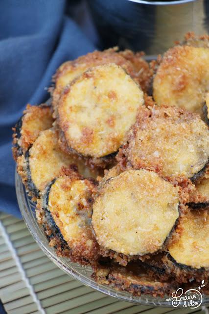 Chips de Courgette au Parmesan Recette apéro apéritif facile rapide