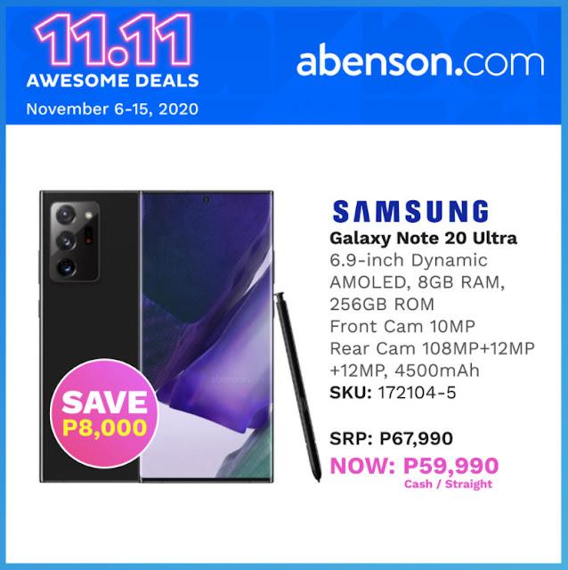 Abenson.com Samsung Galaxy Note20 Ultra