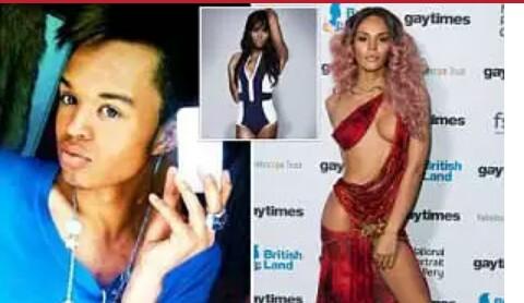 Transgender model Talulah-Eve Brown
