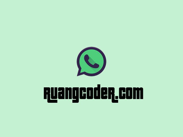Panduan Menggunakan Whatsapp MOD
