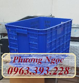 Sóng nhựa rỗng đựng nông sản, sọt nhựa đựng đồ may mặc, thùng nhựa rỗng chứa đồ  111