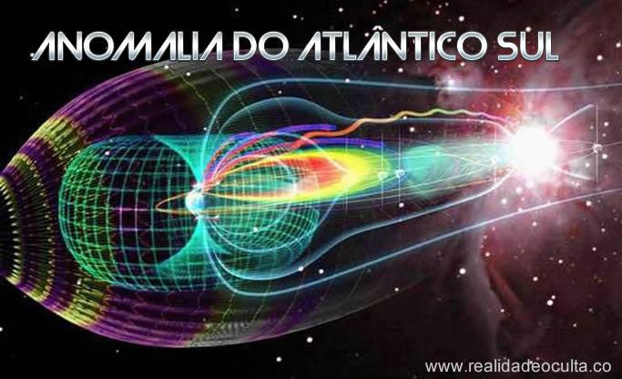 Anomalia no campo magnético da Terra