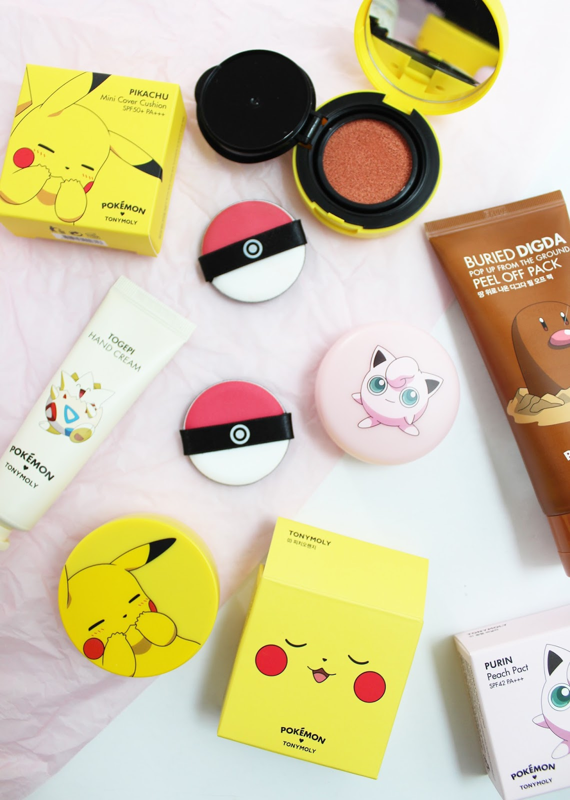 TONYMOLY | Pokemon Makeup - K-Beauty  - CassandraMyee