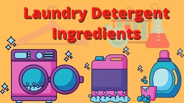 How do Laundry Detergent Ingredients work? Hygienic Cleaning