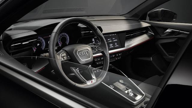 Novo Audi A3 Sedan 2021 - interior