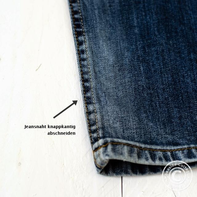 Schmuck aus alten Jeans