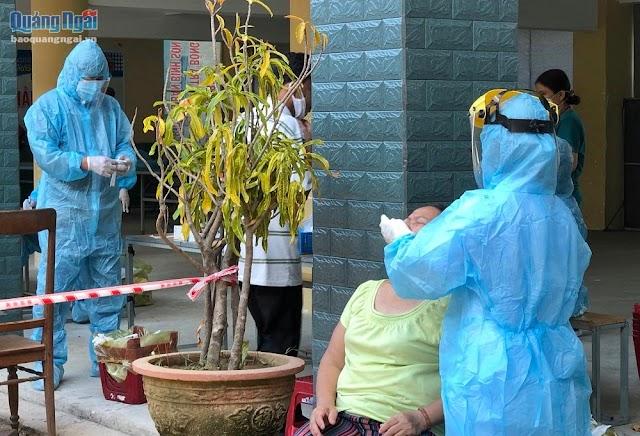 Ghi nhận 3 ca dương tính với vi rút SARS-CoV-2 ngoài cộng đồng ở thị trấn Sông Vệ
