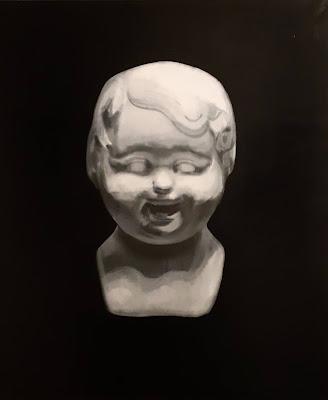 Child Daemon. 95x80cm, oil on canvas, 2018