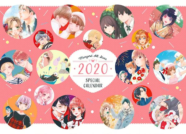 Calendario: Margaret 2020