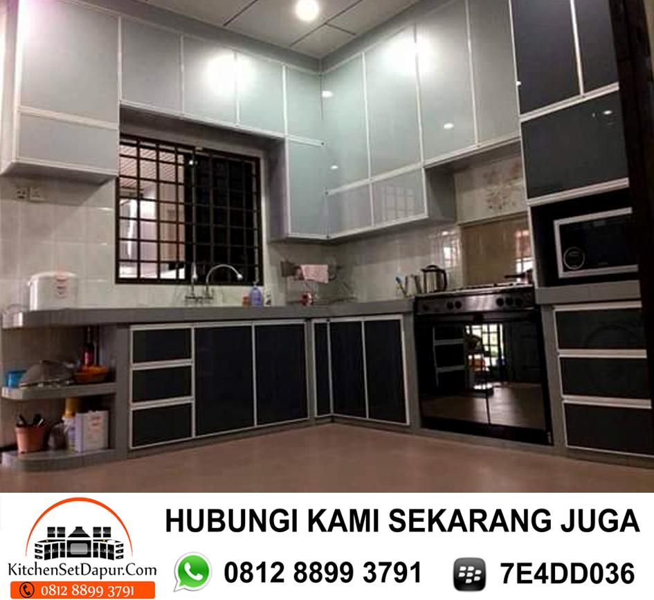 Jasa Pembuatan Kitchen Set Aluminium Cinere Depok 0812 8899 3791