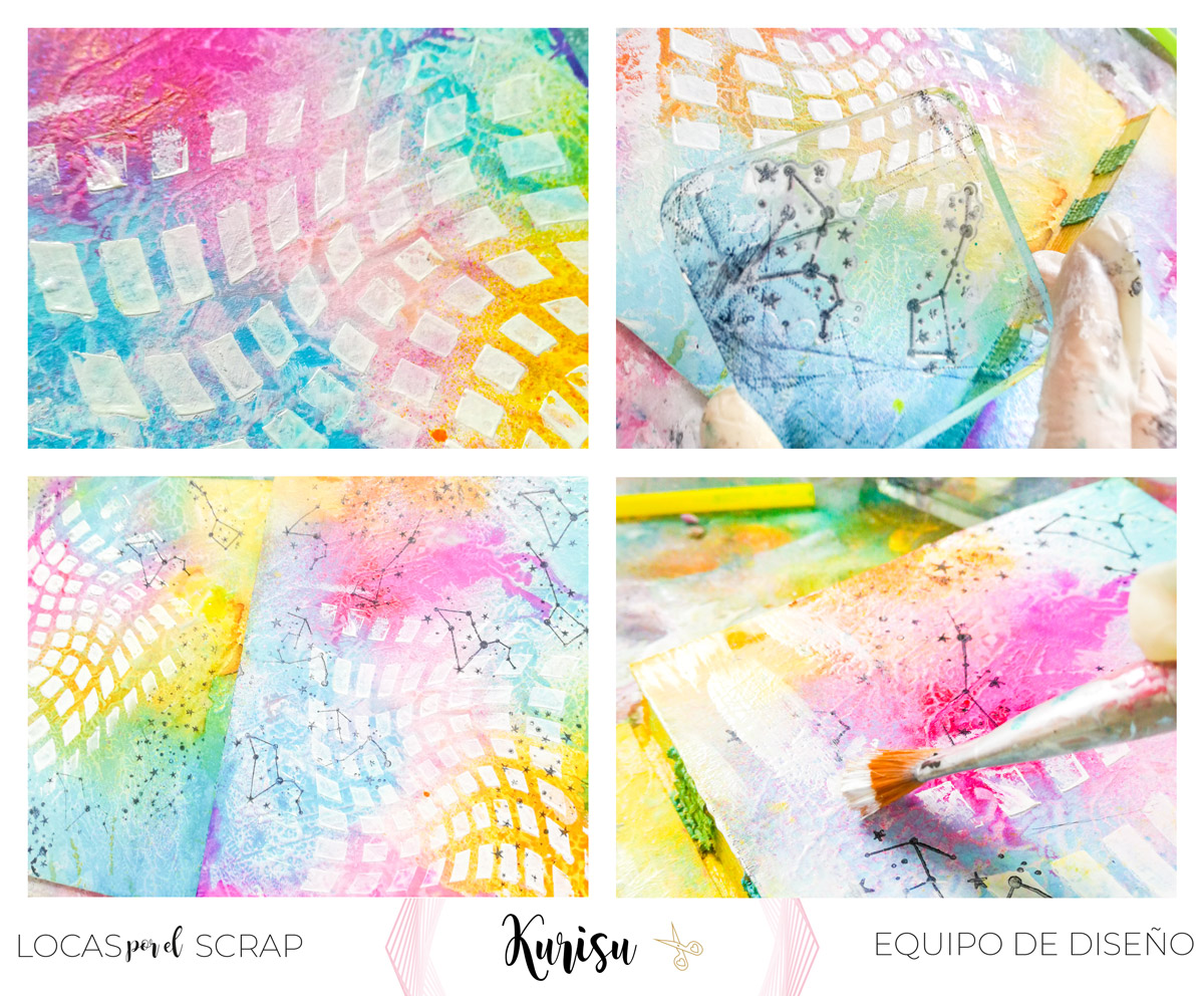 como hacer mixed media art journal con holasoykurisu