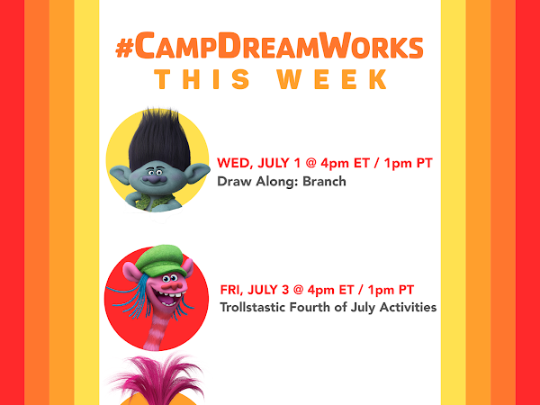 You'll Have Troll Much Fun with #CampDreamWorks This Week