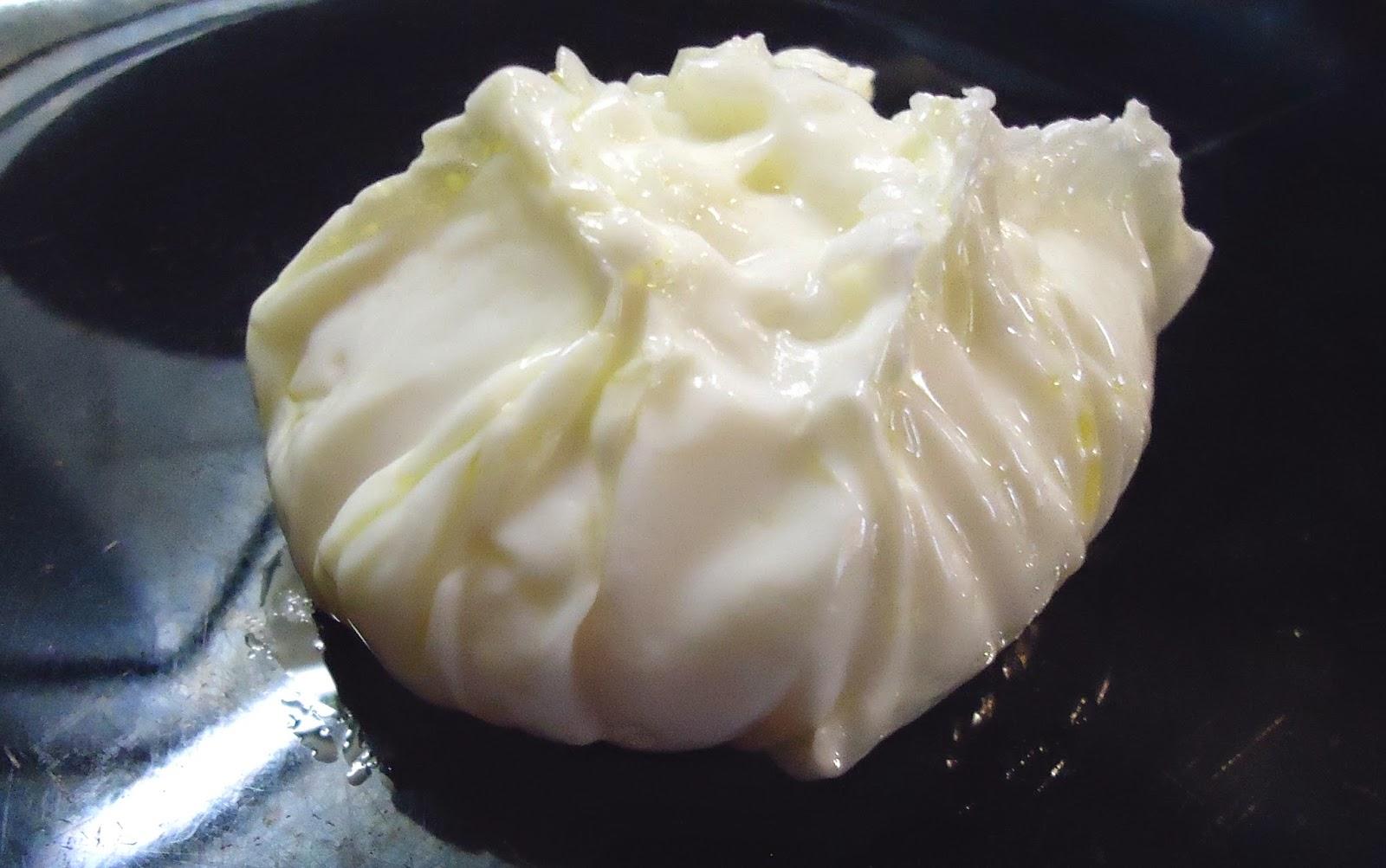 preparación de un huevo escalfado