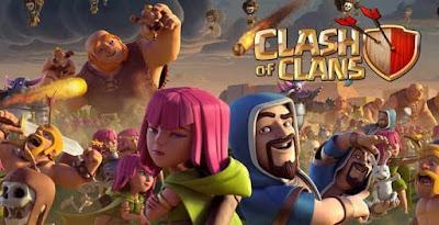 Clash Of Clans - Ternyata Inilah 15 Game Paling Populer di Dunia Versi Youtube