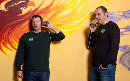 Penemu, Developer, dan Pembuat Whatsapp Jan Koum dan Brian Acton