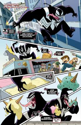 Review del cómic Spiderman y Veneno: Problema Doble de Gurihiru y Mariko Tamaki - Panini Comics