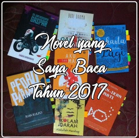 Novel yang Saya Baca Tahun 2017