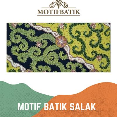 Motif Batik Salak