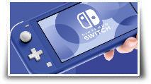 La Nintendo Switch Lite en version Bleu
