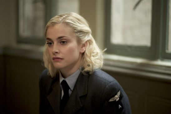 Stefanie Martini in WAAF uniform