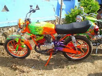 Simak Mengenai Rx King Airbrush Orange Paling Baru Ini