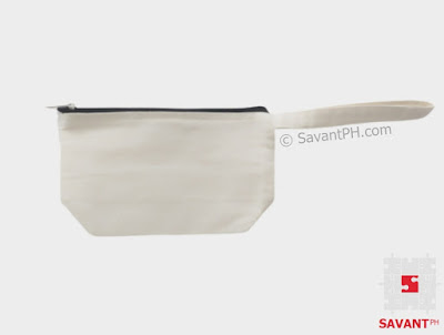 Zippered Cosmetic Canvas Pouch Philippines