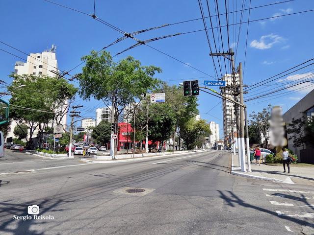 Vista de trecho da Avenida Paes de Barros - Mooca - São Paulo