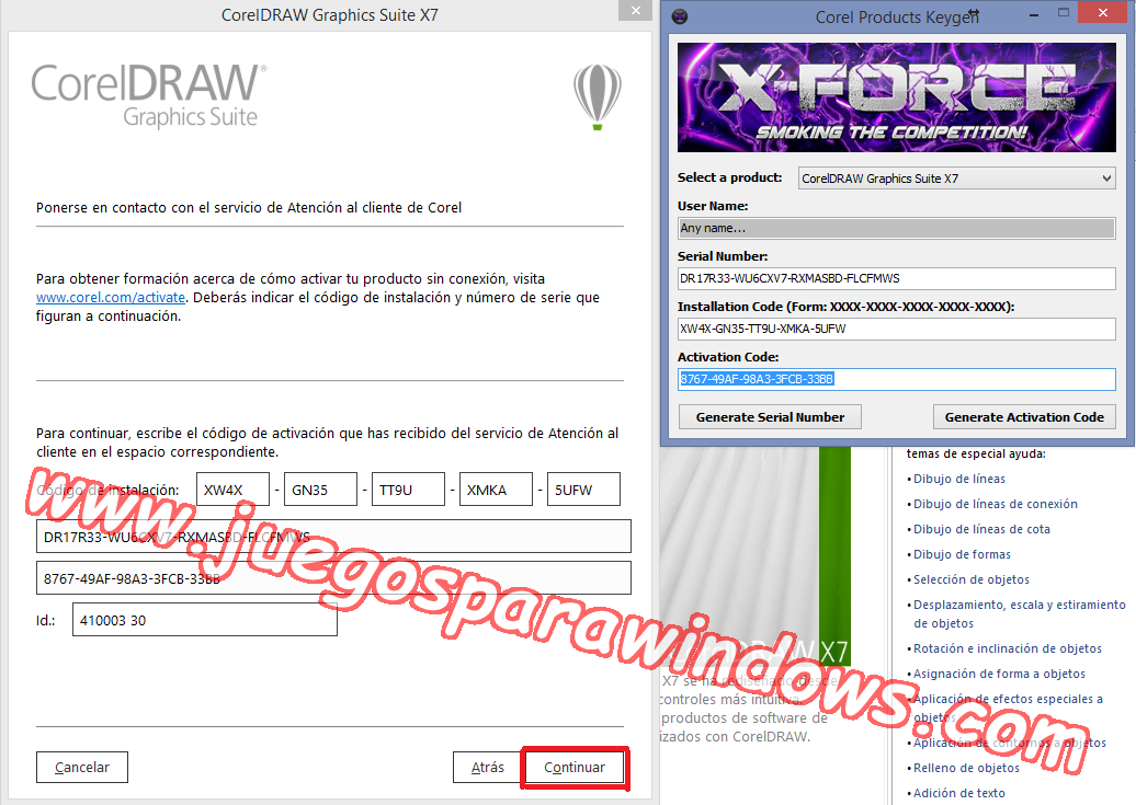 descargar x force keygen corel draw x7