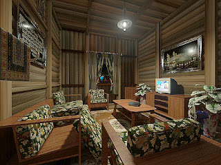 Desain Interior Rumah Minimalis Kampung Sederhana