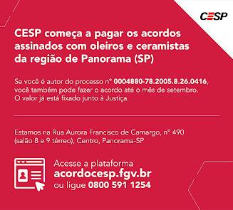 Acordo CESP para profissionais de cerâmicas e olarias