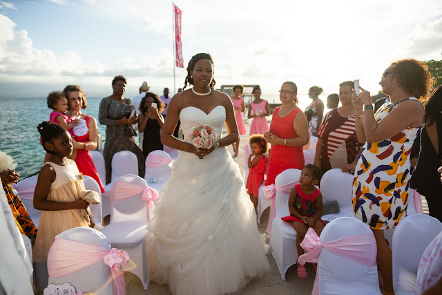 mariage Guadeloupe la créole beach le Gosier