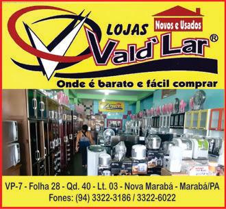 LOJAS VALD'LAR - MOVÉIS NOVOS E USADOS -- MARABÁ/PA