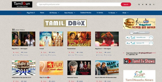 TamilGun 2020: Download Bollywood Movies Free