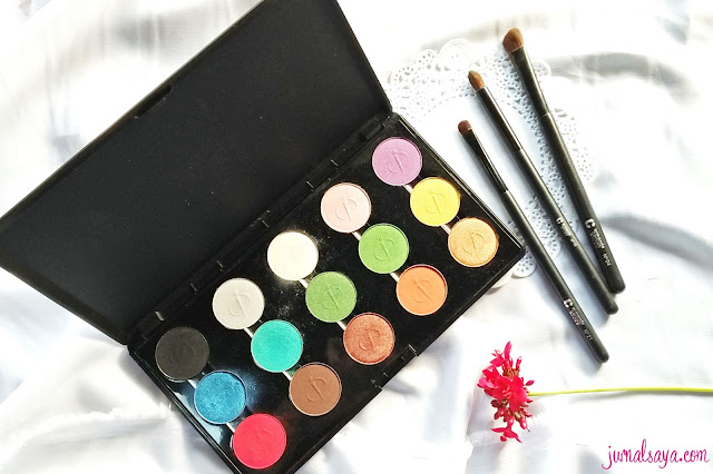 inez professional color eyeshadow palette