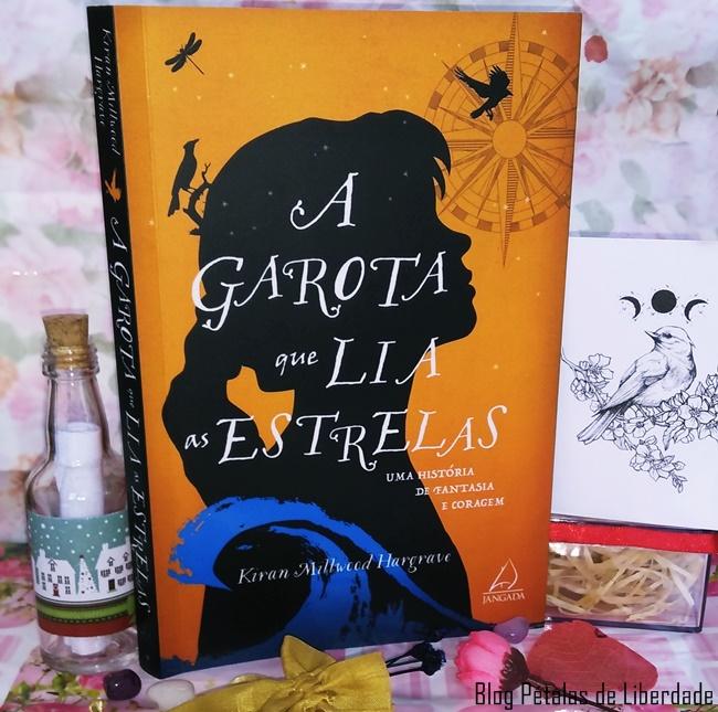 livro, A-Garota-que-Lia-as-Estrelas, Kiran-Millwood-Hargrave, Editora-Jangada, opiniao, capa, blog-literario,