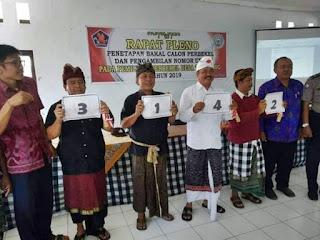 Jadwal Kampanye Pilkel desa Tamblang