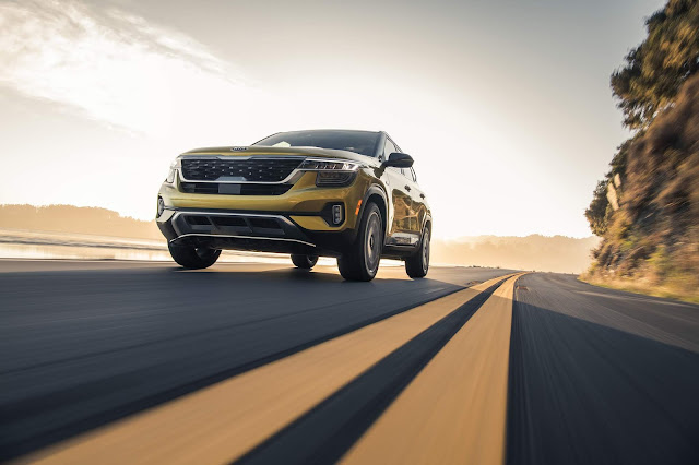 All-New 2021 Kia Seltos Blends Ruggedness And Refinement In Entry SUV Segment