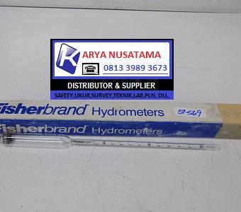 Jual Lab Fisherbrand Hydrometer 11-520-B NIB di Depok