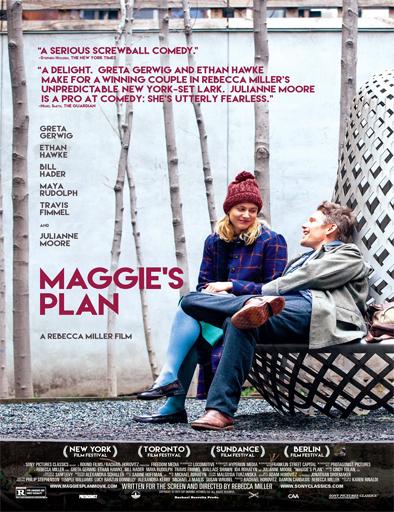 Ver Maggie's Plan (2015) Online