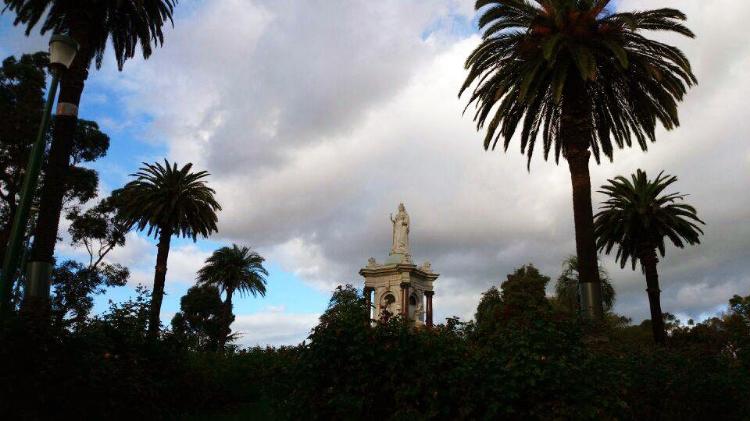 Melbourne, Australia, park, Euriental