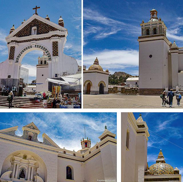 Basílica da Virgem de Copacabana, Lago Titicaca, Bolívia