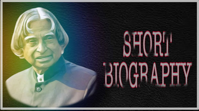 Apj abdul kalam short biography